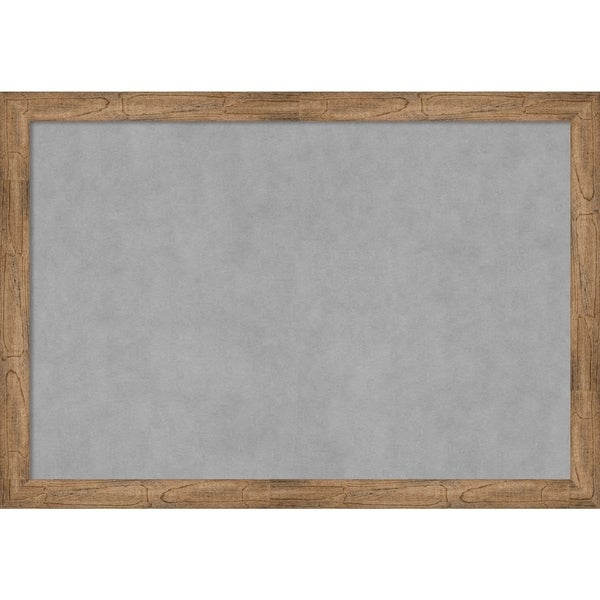 Framed Magnetic Board, Owl Brown Narrow