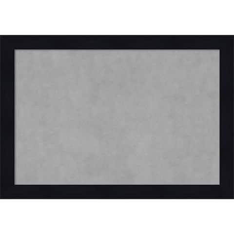 Framed Magnetic Board, Shiplap Navy