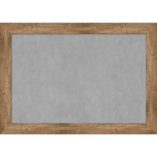 Framed Magnetic Board, Owl Brown