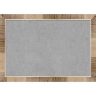 Framed Magnetic Board, Natural White Wash