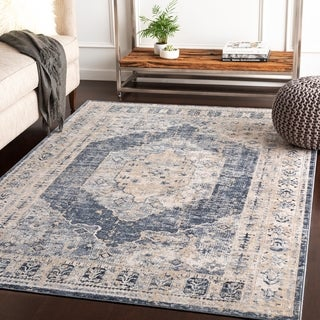 Jouko Taupe Traditional Accent Rug - 2' x 3'