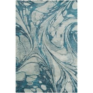 Hand-Tufted Admine Wool Accent Rug - 2' x 3'