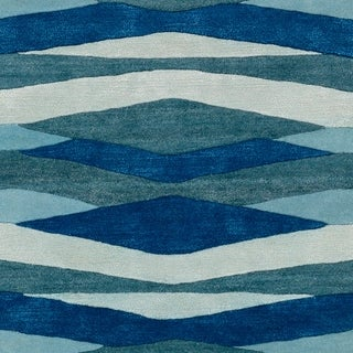 Hand-Tufted Cecian Wool Accent Rug - 2' x 3'