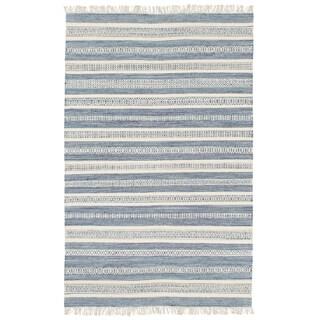 Hand-Woven Clarita Wool/Cotton Area Rug - 6' x 9'