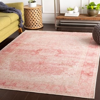 Mahsa Pink Vintage Nomad Accent Rug - 2' x 3'