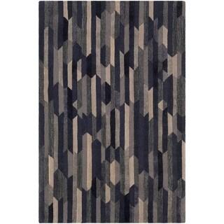 Hand-Tufted Rianacia Wool Accent Rug - 2' x 3'