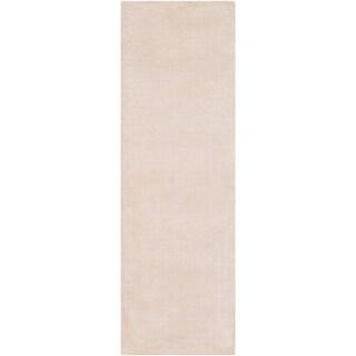 """Hand-Loomed Carolina Viscose/Wool Runner - 2'6"""" x 8' Runner"""