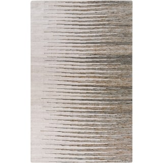 Hand-Woven Adelina Abstract Cotton Area Rug - 6' x 9'
