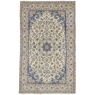Hand Knotted Nain Silk & Wool Area Rug - 7' 10 x 13' 3