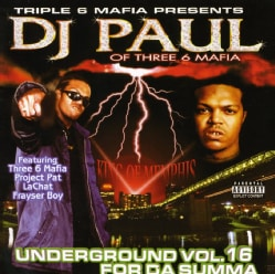 Dj Paul-Underground Volume 16 for Da Summa