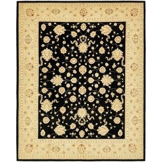 Hand Knotted Peshawar Ziegler Wool Area Rug - 8' x 10'