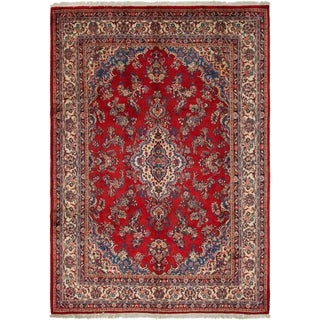 Hand Knotted Shahrbaft Semi Antique Wool Area Rug - 8' 9 x 12' 3