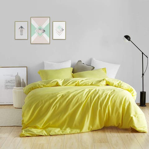 BYB Duvet Cover Limelight Yellow