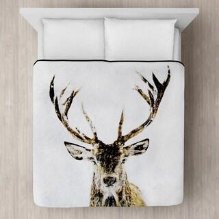 Deer Micro Mink Blanket