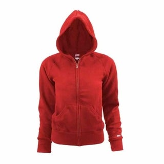 Soffe Youth Rugby Fleece Zip Hoodie XL Red