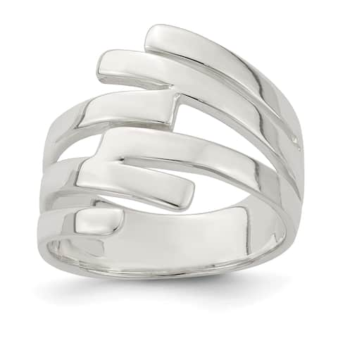 Versil Sterling Silver Fancy Ring