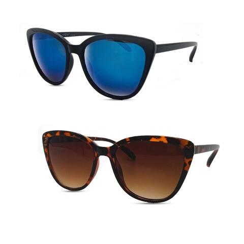 Retro Cat Eye Polarized Sunglasses P2439