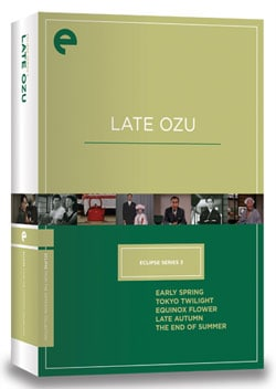 Eclipse Series 3: Late Ozu (DVD)