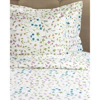 Printed Design Cotton Collection 400 Thread Count Wildflower Duvet Set