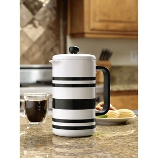 Link to BonJour Stoneware French Press, 8-Cup Similar Items in Coffee Makers
