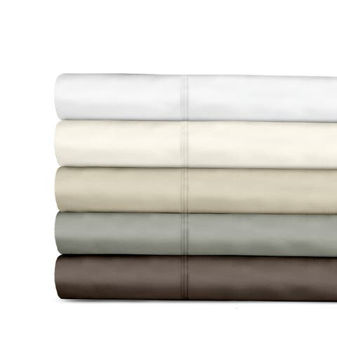 Veratex 800 Thread Count Sateen Solid Sheet Set