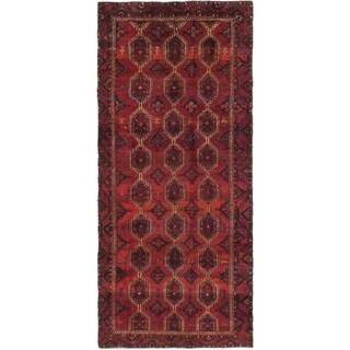 Hand Knotted Sirjan Wool Runner Rug - 4' 5 x 10' 3
