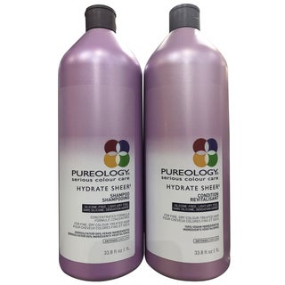 Pureology Hydrate Sheer 33.8-ounce Shampoo & Conditioner Duo