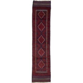 Hand Woven Sumak Wool Runner Rug - 1' 11 x 8' 6
