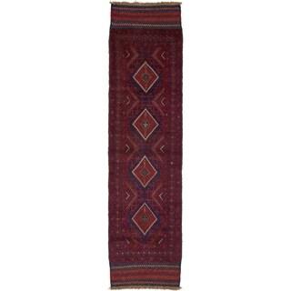 Hand Woven Sumak Wool Runner Rug - 2' 1 x 8'
