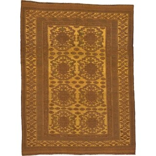 Hand Woven Sumak Wool Area Rug - 6' 6 x 8' 8