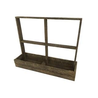 Rustic Reclaimed Tobacco Lath Board Window Box