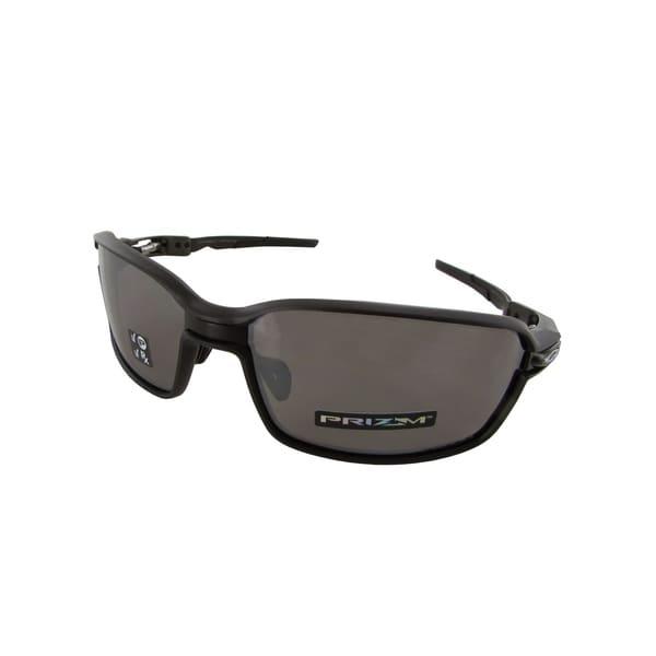 0081e53506 Shop Oakley Mens Carbon Prime Polarized Sporty Sunglasses