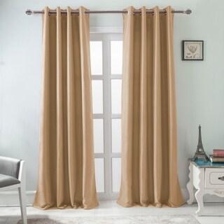 RT Designers Burma 84 Inch Room Darkening Grommet Single Curtain Panel