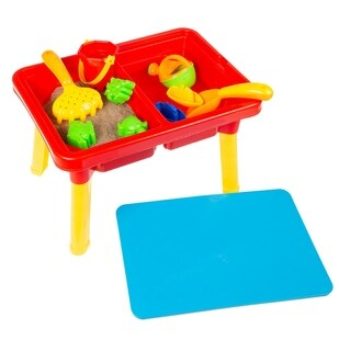 Water or Sand Sensory Table with Lid and Toys Hey! Play!