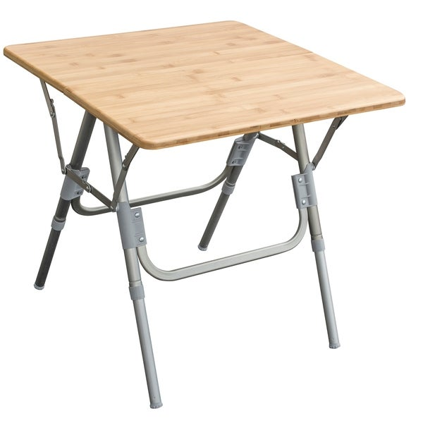 Shop Amerihome Folding Side Table Free Shipping Today Overstock