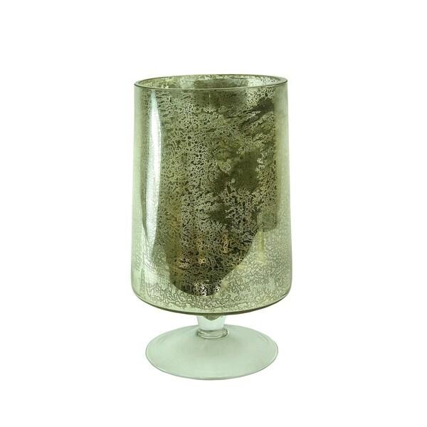 Essential Decor & Beyond Glass Hurricane EN14629 - 5.9 x 6.41 x 12.20