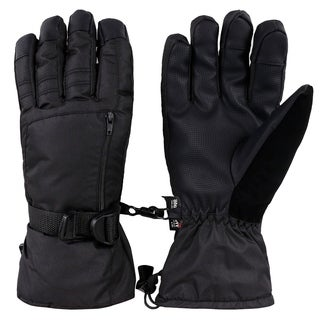 Men's Waterproof Touchscreen Winter Ski Gloves