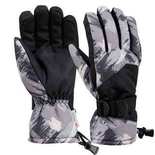Link to Mens Winter Touchscreen Waterproof Thinsulate Lining Ski Gloves Similar Items in Gloves