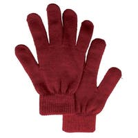Five Fingered Knitted Soft & Warm Winter Gloves
