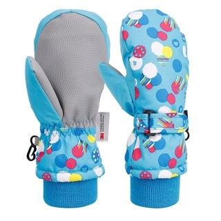 Toddler's Waterproof Winter Sports Ski Mittens
