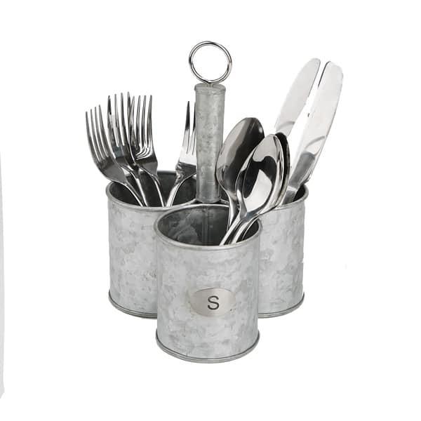 Shop Mind Reader 3 Cup Utensils Caddy, Cutlery Holder, Serve ...