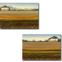 Tuscan Memory I and II by Robert Charon 2-piece Gallery Wrapped Canvas Giclee Art Set (Ready to Hang)