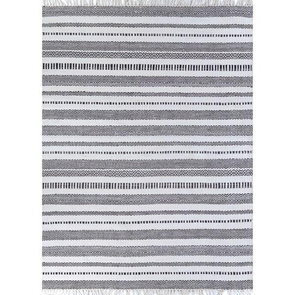 Fjord Cohansey Dark Gray Indoor/Outdoor Area Rug - 8' x 10'