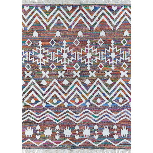 Renewal Hanuman Multi Color Area Rug