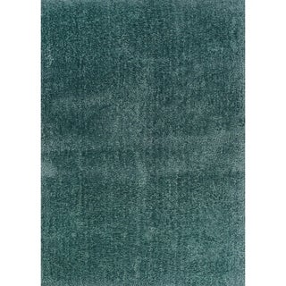 Hand-crafted Boerum Hill Shag Forest Area Rug - 8' x 10'