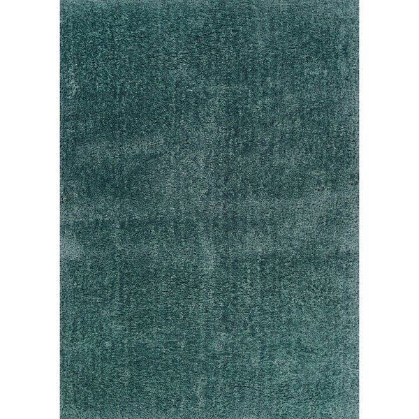"""Hand-crafted Boerum Hill Shag Forest Area Rug - 5'3"""" x 8'"""