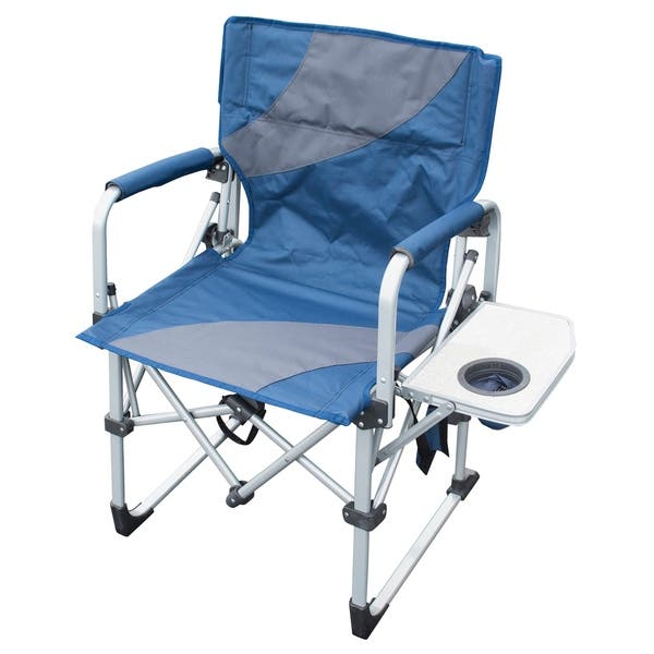 Miraculous Shop Folding Camping Chairs With Side Table Set Of 2 Free Machost Co Dining Chair Design Ideas Machostcouk