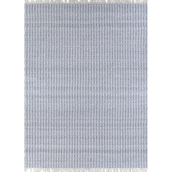 Fjord Dillon Light Gray Indoor/Outdoor Area Rug - 2' x 4'