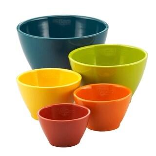 Rachael Ray Melamine Nesting Measuring Cups, 5-Piece Set - Multi