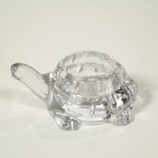 Essential Decor & Beyond Glass Tealight Holder EN2250 - 4 x 4 x 1.5